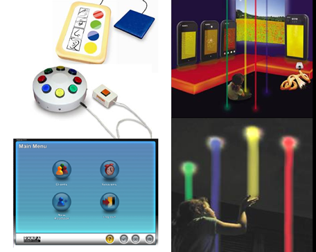 Everysense system features: remote controls, software interface and wireless sensory products
