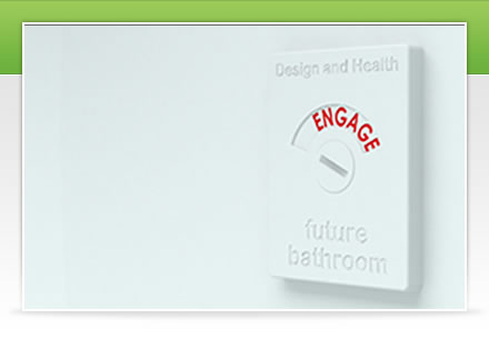 home page image of toilet cubicle lock, showing 'Engaged'